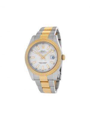 Наручные часы Datejust II pre-owned 41 мм 2015-го года Rolex. Цвет: нейтральные цвета