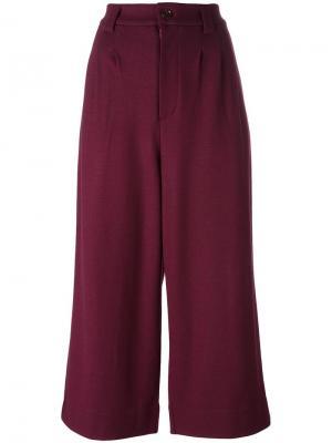 Укороченные брюки Docking Tsumori Chisato. Цвет: розовый