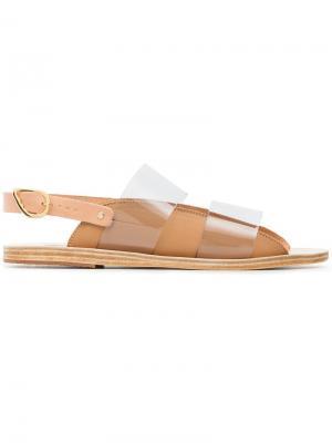Сандалии с прозрачной панелью Ancient Greek Sandals. Цвет: нейтральные цвета