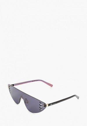 Очки солнцезащитные M Missoni. Цвет: черный
