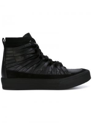 Кроссовки со шнуровкой Damir Doma. Цвет: черный
