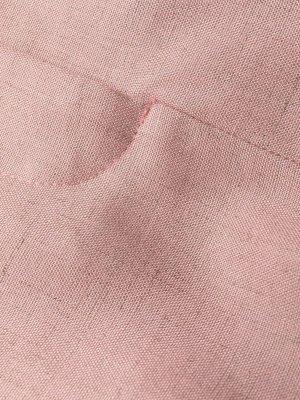 Зауженные брюки с завышенной талией Stella McCartney. Цвет: розовый