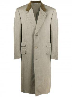 Пальто 1990-х на пуговицах A.N.G.E.L.O. Vintage Cult. Цвет: зеленый