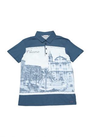 Поло Dolce & Gabbana. Цвет: мультицвет