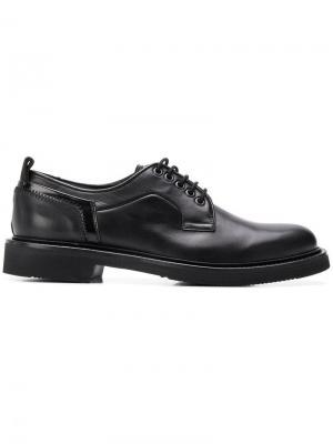 Туфли на шнуровке Bruno Bordese. Цвет: черный