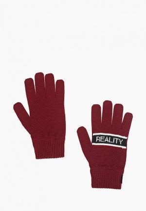 Перчатки J.B4. Цвет: бордовый