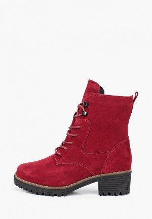 Ботинки La Grandezza. Цвет: бордовый