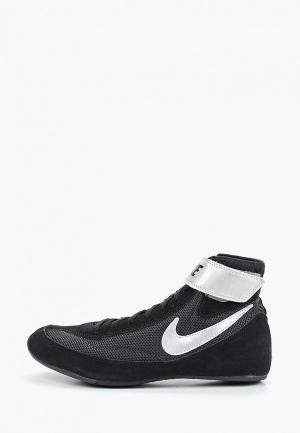 Борцовки Nike. Цвет: черный