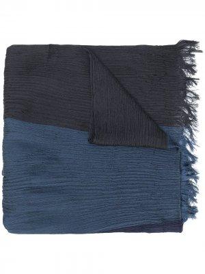 Плиссированный платок Issey Miyake. Цвет: синий
