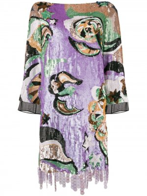 Sequined mini dress Emilio Pucci. Цвет: розовый
