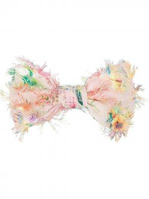 Заколка для волос Millie с аппликацией Maison Michel. Цвет: розовый