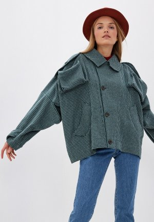 Пальто Vivienne Westwood Anglomania. Цвет: зеленый