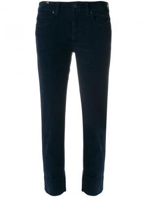 Прямые джинсы Notify. Цвет: синий