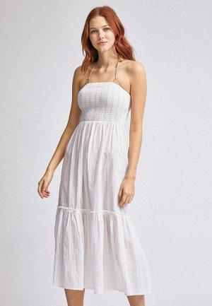 Платье пляжное Dorothy Perkins. Цвет: белый