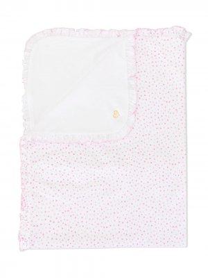 Спальный конверт с принтом Kissy. Цвет: белый
