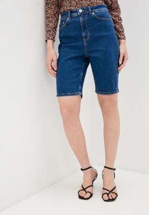 Шорты джинсовые Ichi. Цвет: синий
