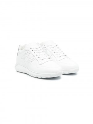 Массивные кроссовки Hogan Kids. Цвет: белый