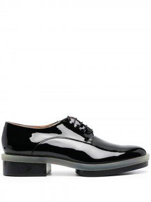 Туфли Roma на шнуровке Clergerie. Цвет: черный