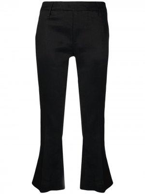 Укороченные брюки Dondup. Цвет: черный