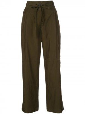 Широкие брюки со вставками Jason Wu. Цвет: зеленый