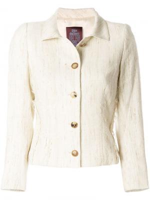 Однобортный пиджак John Galliano Vintage. Цвет: нейтральные цвета