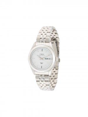 Наручные часы Waterbury Legacy Boyfriend 36 мм TIMEX. Цвет: серебристый