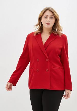 Пиджак Sophia. Цвет: красный