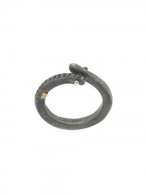 Декорированное кольцо Rosa Maria. Цвет: серебристый