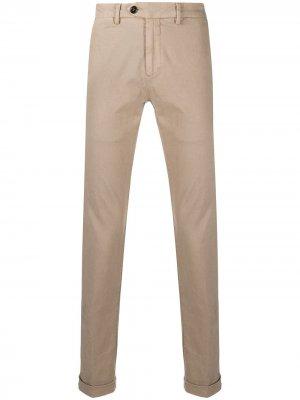 Узкие брюки чинос Seventy. Цвет: нейтральные цвета