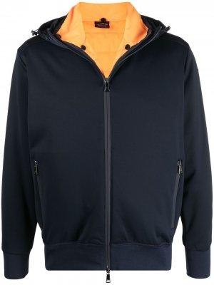 Куртка с капюшоном Paul & Shark. Цвет: синий