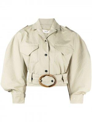 Рубашка Clara с пряжкой Skiim. Цвет: зеленый