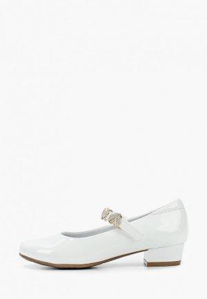 Туфли Kapika. Цвет: белый