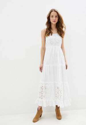 Сарафан Fresh Cotton. Цвет: белый