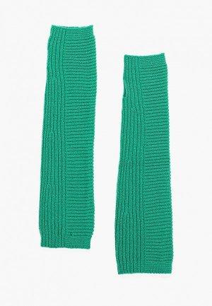 Митенки United Colors of Benetton. Цвет: зеленый