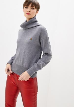 Водолазка Vivienne Westwood. Цвет: серый