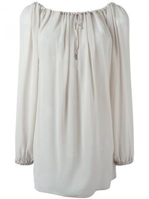 Расклешенная блузка с длинными рукавами Vivienne Westwood Red Label. Цвет: нейтральные цвета