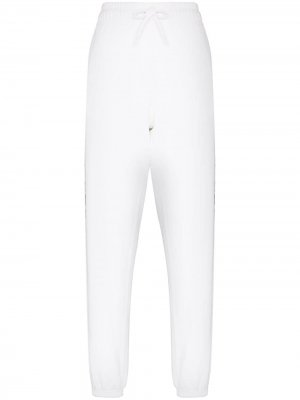 Спортивные брюки с логотипом Polo Ralph Lauren. Цвет: белый
