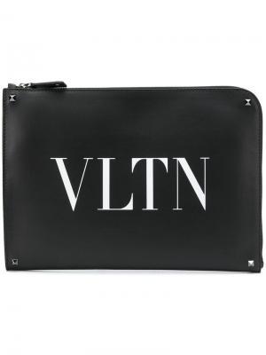 Папка для документов Garavani VLTN Valentino. Цвет: черный