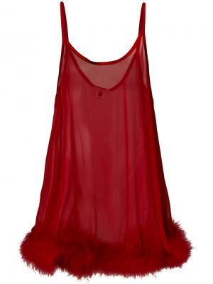Сорочка Diana Gilda & Pearl. Цвет: красный