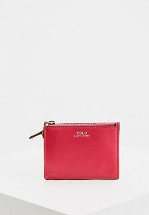 Кошелек Polo Ralph Lauren. Цвет: розовый