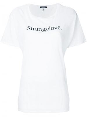 Футболка Strangelove R13. Цвет: белый
