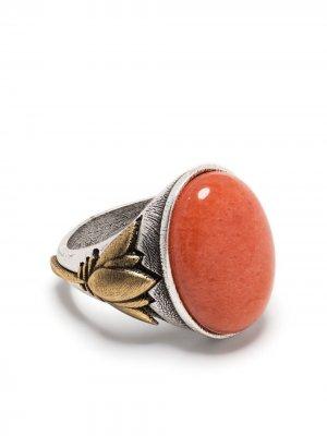 Кольцо с камнем Ports 1961. Цвет: серебристый