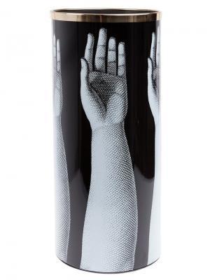 Подставка для зонтов Fornasetti. Цвет: черный