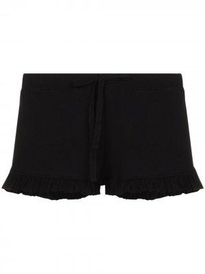 Пижамные шорты Raffaela Skin. Цвет: черный