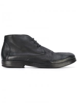 Ботинки дезерты Marsèll. Цвет: черный