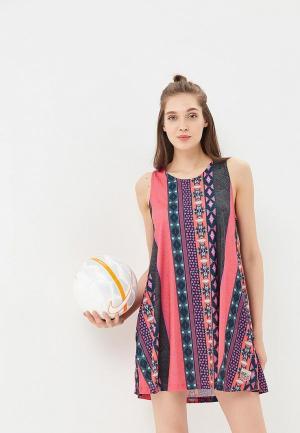 Платье Femi Stories. Цвет: розовый