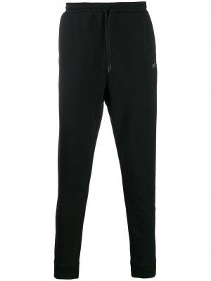 Спортивные брюки с логотипом BOSS. Цвет: черный