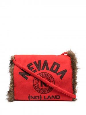 Муфта с принтом Nevada Raf Simons. Цвет: красный