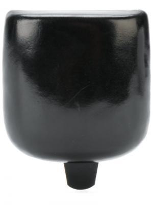 Кошелек жесткой формы Ann Demeulemeester Blanche. Цвет: черный