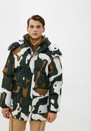 Куртка утепленная Icepeak. Цвет: разноцветный